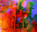 Watercolor abstract nice image of an original on paper Royalty Free Stock Photo