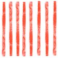 Watercolor abstract seamless pattern with colorful red lines