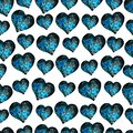 Watercolor abstract seamless pattern. ideal for backgrounds, Wallpapers and design.watercolor illustration in shape of a heart