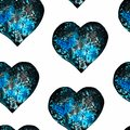 Watercolor abstract seamless pattern. ideal for backgrounds, Wallpapers and design.watercolor space illustration shape of a heart