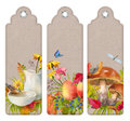 Watercolor Autumn Bookmark