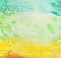Watercolor background Stock Image