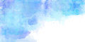 Watercolor Background Blue