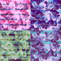 Watercolor background.The seamless exotic background Royalty Free Stock Photo