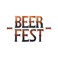Watercolor beer fest Royalty Free Stock Photo