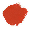 Watercolor blob red isolated on white Stock Photos