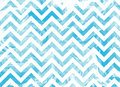Watercolor blue marble stripes background, chevron. Royalty Free Stock Photo