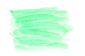 Watercolor brush strokes green space for your own text Royalty Free Stock Photos