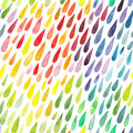 Watercolor colorful abstract background. Collection of paint spl Royalty Free Stock Photo