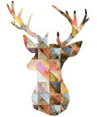 Watercolor Deer Graphic Illust...