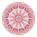 Watercolor ethnic ornate feathers abstract mandala.