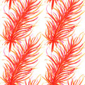 Watercolor feathers abstract seamless pattern background. Template for a business card, banner, poster, notebook