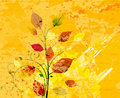 Watercolor floral background Stock Photography