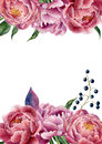 Watercolor Floral Wedding Invi...