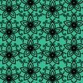 Watercolor Flower Vector Background