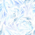 Watercolor frost pattern