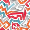 Watercolor Graffiti Colorful S...