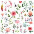 Watercolor Nature Clip Art.