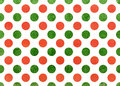 Watercolor Orange And Green Po...