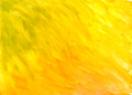 Watercolor paint. yellow background. Stock Photo