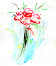 Watercolor painting Royalty Free Stock Photo