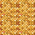 Watercolor pattern with scales Royalty Free Stock Photo