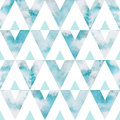 Watercolor Sky Triangles Seaml...
