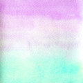 Watercolor texture transparent marble pink and blue color. watercolor abstract background. horizontal gradient.
