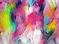 Watercolors painted abstract Royalty Free Stock Photography