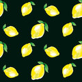 Watercolour lemon element. concept vivid fashion backdrop Royalty Free Stock Photo