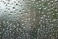Waterdrops on window Royalty Free Stock Photo
