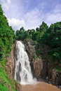 Waterfal in Thailand Stock Photo