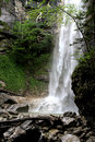 Waterfall in aschau bavaria digital photo of a upper Royalty Free Stock Image