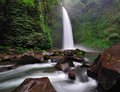 Waterfall in bali indonesia nung nung Royalty Free Stock Image