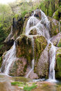 Waterfall of baume les messieurs in france Stock Photo