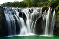 Waterfall beautiful in shifen taiwan Royalty Free Stock Photos