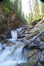 Waterfall a beautiful in silverton colorado Royalty Free Stock Photos