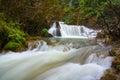 Waterfall beautiful tee lor soo in tak province in thailand Royalty Free Stock Photo