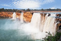 Waterfall the beauty of the chitrakote waterfalls Stock Image