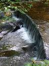 Waterfall in bi feng xia scenic spot yaan sichuan china Royalty Free Stock Photos