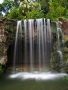 Waterfall at botanic garden Royalty Free Stock Image