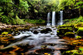 Waterfall Brecon Beacons national park, Wales UK Royalty Free Stock Photo