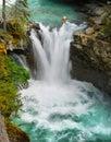 Waterfall, Canadian Rockies Royalty Free Stock Photo