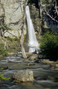 Waterfall Chorillo del Salto Stock Photo