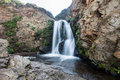 Waterfall on the Coast of California Royalty Free Stock Photo