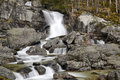 Waterfall on Cold creek, High Tatras, Slovakia