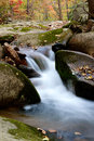Waterfall creek beautiful and water stream landscape in liaoning china Stock Photos