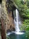 Waterfall in Croatia Stock Images