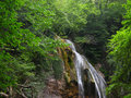 Waterfall Dgur-dgur, Crimea Royalty Free Stock Photo