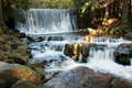 Waterfall Dziki Royalty Free Stock Images